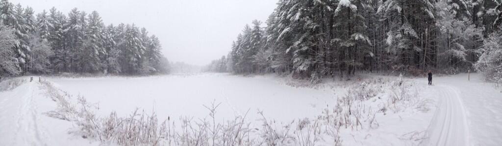 Adams Pond Pano